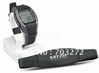1set pulse watch Heart rate watch + Wireless heart rate belt freeshipping