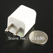 USB AC Power Socket Wall Charger Adapter US Plug For Apple iPod Nano iPhone 4G 4S 3GS New Hot(China (Mainland))