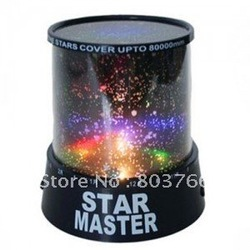Free Shipping,Special offer! The sky star constellation projector,star master sound asleep LED lamp,Christmas gift,star master(China (Mainland))