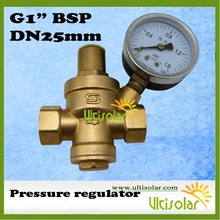 1 Inch Water Pressure Reducing Valve with Pressure Gauge-Ultisolar New Energy Co., Ltd-Woolf Zhang(China (Mainland))