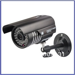 "Promotion 600TVL 1/3"" Sony CCD 36 LEDs Color Night Vision Indoor/Outdoor security IR CCTV Camera free shipping(China (Mainland))"
