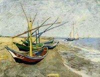 reproduction oil painting Van Gogh,Landscape canvas art Van -036