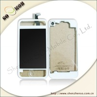 color housing for Iphone4 4G free shipping by dhl