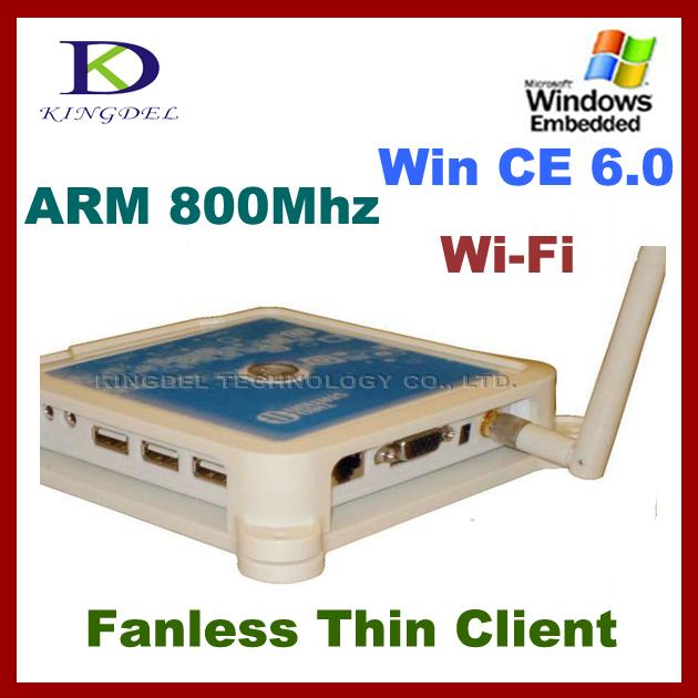 KINGDEL Mini PC, PC Share Terminal with ARM11 800Mhz, Microphone, 3*USB, Windows CE 6.0(Hong Kong)