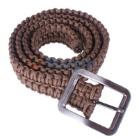 New Hand-made High Quality Survival 550  Parachute Cord Paracord Life-saving Survival Belt 6 Colors