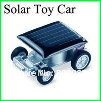 Wholesale! Solar Toy  Mini Solar Car Solar Toy Car Novelty Items Children stuff proper Education Gift 100pcs/lot Free Shipping