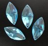 7x15mm Marquise sew-on acrylic gems, 60 different colors, 1 lot/color