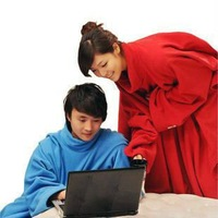 Warm Blanket with Sleeve Fifth generation washable Lazy Pajamas Robe home bedding Winter watch TV High Quality Blanket