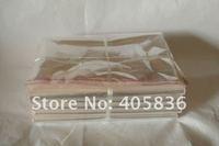 18 * 30 cm 100pcs/lot transparent OPP bag, self-adhesive plastic bags, jewelry bags Free shipping