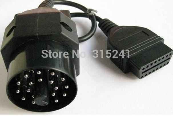 Диагностические кабели и разъемы для авто и мото Alansh 2015 BMW 20 pin 16pin OBD2