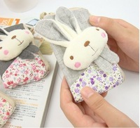 Min. Order 15$, Plush Metoo Rabbit Mobile Phone Bag Pouch Cellphone Pouch Bag Coin Bag Purse Pendant Bag Case Phone Bag Pouch