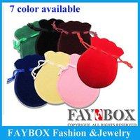 Promotion!!! 2012 Trendiest Jewelry Velvet Bag, Lovely Gift Bags,Christmas Bags,200pcs/lot, Free Shipping!