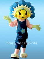 Free Shipping Adult Fifi the Flower Woman Cartoon Character Mascot Costumes for Party High Quality