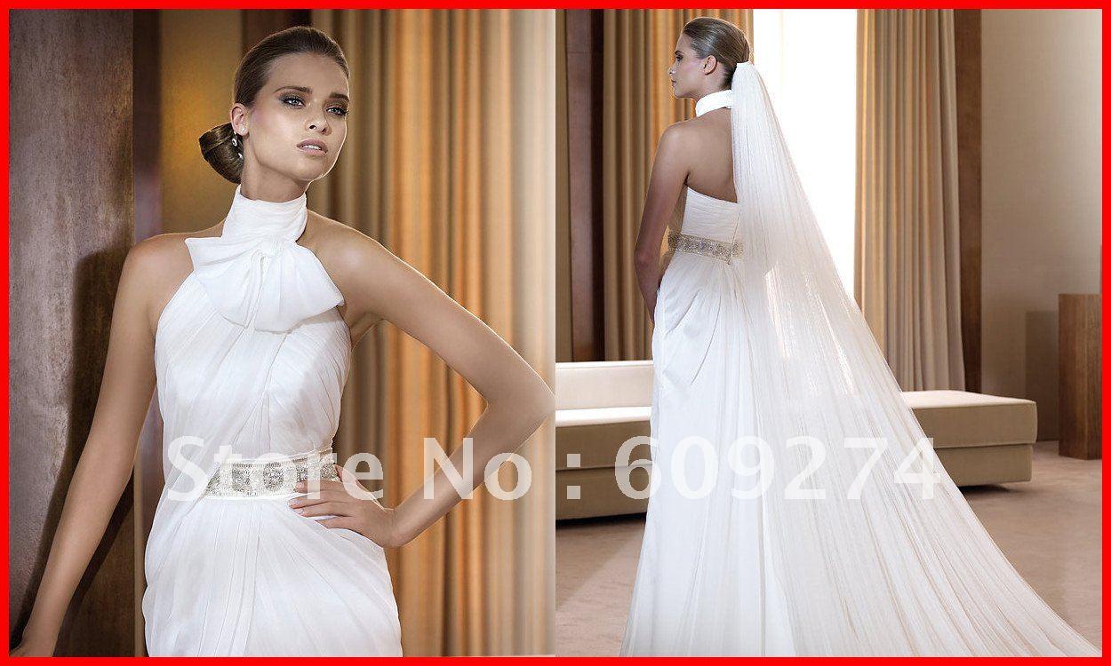 Chiffon-Bead-Empire-White-Ivory-Beach-Wedding-Dress-Bridal-Gown.jpg