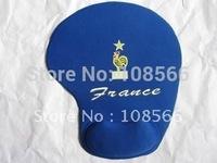 France soft wrist mouse pad/fans souvenir