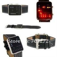freeshipping!2010 Binary Japanese Multicolor LED Watch - The Singularity wrist watch !