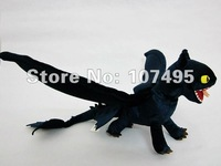 NEW Toy How to Train your Dragon the Night Fury Plush Toy Toothless Dragon Stuffed Animals  18 Inch WHolesale