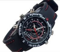DHL Free shipping ,waterproof Watch Mini DV 4G newest Waterproof Watch Camera