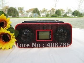 js 925 loudspeaker sound box USB Interface Audio speaker Support SD TF card Li-ion battery FM Radio