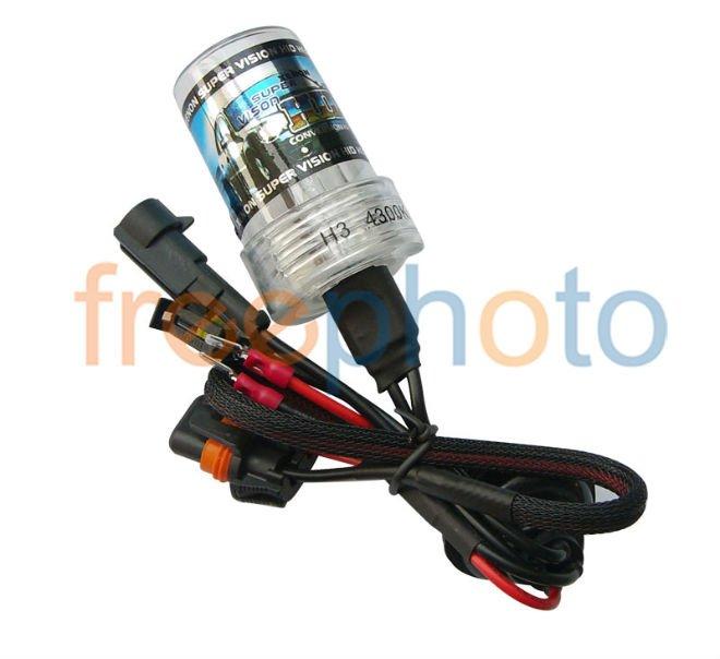 2 years guarantee FREESHIPPING + HID xenon bulb 12VDC/35W 9005(HB3) 6000K 1pair/lot(Hong Kong)