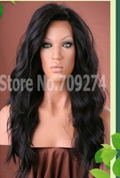 FREE SHIPPPING Wholesale 100 virgin brazilian lace front wig  no shedding tangle free instock