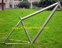 29er Titanium Mountain Bike Frame With Sliding Dropout