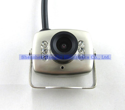 dropshipping ,Super Micro Monochrome Color Wired CMOS Mini Camera work with monitor or TV wholesale(China (Mainland))