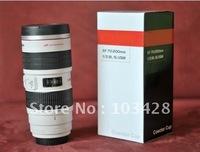 Freeshipping 1 PCS/lots  hight quality novelty camera 70-200 mm lens cup Mug gift