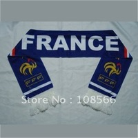 Wholesale France bule scarf  / fans souvenirs  5pcs /lot