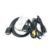 Free Shipping Wholesale New Universal PC Laptop VGA to TV Signal Converter Box E03010017