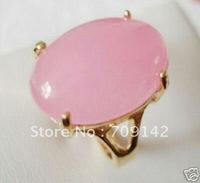 Beautiful!Pink Chalcedony Ring7# 8# 9# R.80