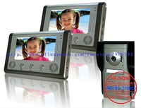 """7"""" wire multicolour handfree  Cats Eye visual interphone doorbell / taking pictures / Archaize color appearance 1 to 2"""