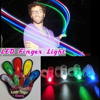 4 color led finger lamp,LED finger light,Laser Finger,Show Party Decoration