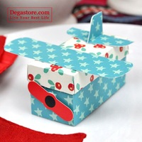 Christmas airplane box C10