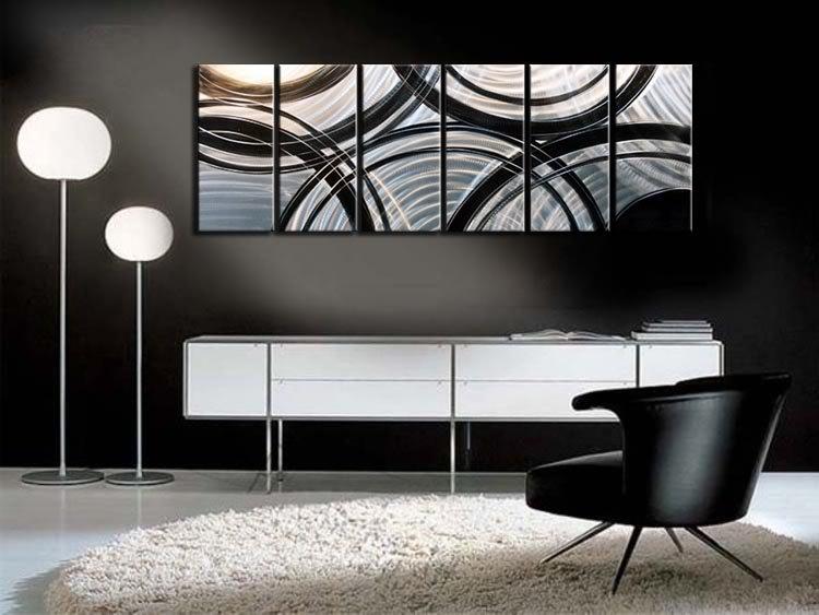 Buy Metal Wall Art Abstract Contemporary Sculpture Home Decor Modern