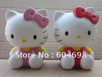 New Mini Hello Kitty  Coin Piggy Bank,Coin bank,Lovely Kids Gift,Funny Toys  Sample Free Shipping Used Saving Coinese