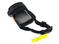 5Pcs/Lot Brand new Soft Mesh Dog Muzzle Pet Mask Dog Anti Bark Chew Respirator