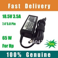 10X 100% Original Laptop Adapter/Laptop Charger for Hp 18.5V 3.5A PPP009H (7.4*5.0MM PIN) DHL Free Shipping