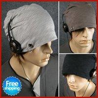 New arrivial! Hot sales men headgear cap Men's beanie hats,Winter cotton hats,hats for men,Free gifts + Free Shipping UW009