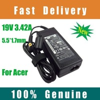 10X 19V 3.42A AC Adapter for Acer Aspire 1200 1400 3600 ADP-65JH DB DHL free shipping