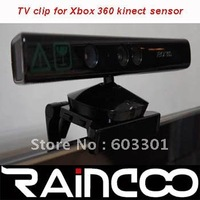 10pcs/lot for X-BOX 360 kinect sensor TV clip, TV mount clip for x-box 360 kienct sensor, retail packing, free shipping