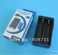10Pcs/Lot Dual AC 18650 Battery Rechargable Charger Double Type Charger + Fast Shipping
