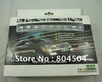 free shipping 8pcs 0.15W 3528  LED  daytime running lights