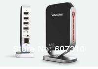 Gigabit Networking USB Hub 100Mbps Networking USB 2.0 Server / Print Server USB Device Share Over Network with 4 USB Ports