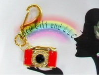 Wholesale! Free boxes Camera usb key ring usb flash drive 1GB/2GB/4GB/8GB/16GB(red,black)