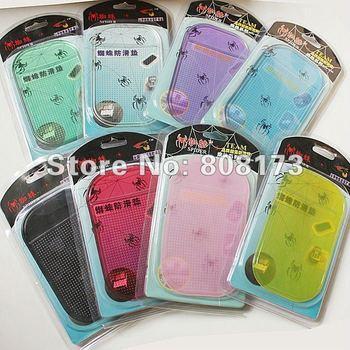 Free Shipping 25Pcs/Lot Pu Anti Slip Mat Soft Sticky Pad Magic Auto Non-Slip Accessories
