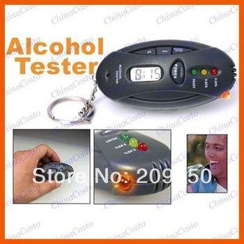 Portable Alcohol Breath Tester,Alcohol Analyzer,Breathalyzer Keychain