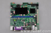 Big Sales,100% New-Intel Mini-ITX Board D945GSESE with Atom N270 and 945GSE,2 LAN+44pin IDE+TV-OUT+CF