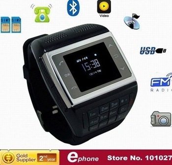 new 2011 watch mobiles phone VE77 Dual Sim Standby + Compass
