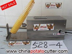 528 elettrico della patata contorto new tornado potato cutter , 110 v , 220 v / 50 hz patata a spirale affettatrice 304# in acciaio inox ( con il contatore )